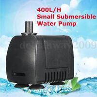 110-220V 400L/H Submersible Aquarium Fountain Pond Small Water Pump Fish Tank