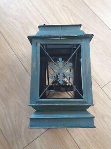 Rare Bath & Body Works US  Snowflake Lantern Metal Large Jar Candle Holder