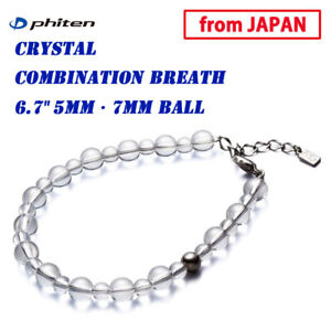 "PHITEN Golf Japan Crystal combination breath 6.7"" (17cm) 5mm・7mm ball 2021sp"