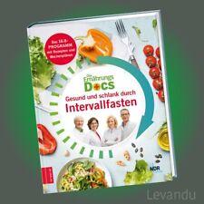 DIE ERNÄHRUNGS-DOCS - GESUND UND SCHLANK DURCH INTERVALLFASTEN | Das neue Buch