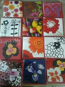 50 FLOWER POWER CARDS, WHOLESALE JOBLOT GREETING CARDS