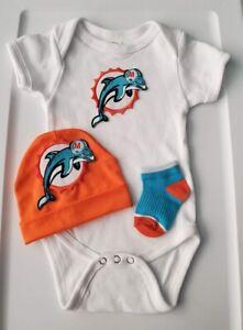 Dolphins baby/newborn clothes Miami baby boy  Dolphins newborn Dolphins baby