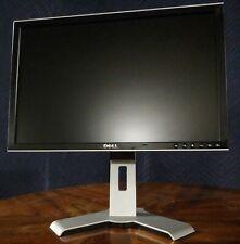 """SALE Dell Ultrasharp 20"""" LCD Monitor 2007WFPb DVI VGA S-VIDEO RCA w/USB GRADE A"""