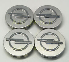 4  Caches Jante moyeux - Centre de roue - Boulon - OPEL CO27- 58mm