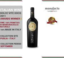 6 bottles Italian Red Wine   PRIMITIVO DI MANDURIA Dolce Vite DOCG PLURIPREMIATO