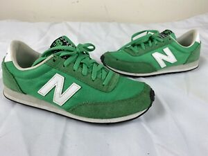 New Balance Womens 410 Low Top Lace Up Running Sneaker Green Size 7 US / 37.5 EU