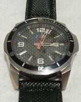 BMW M1 M2 M3 M4 M5 M6 M Power Motorsport Carbon Dial Racing Car Watch