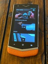 Genuine Vertu Constellation V Android Luxury Phone ORANGE Super RARE Must Have