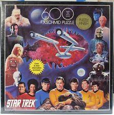 Star Trek F. X. Schmid Jigsaw Puzzle - 600 Pieces NEW/SEALED Tribbles 1st Cast