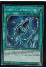 Majesty with the Blue Eyes lckc-de031, Secret Rare, German, MINT