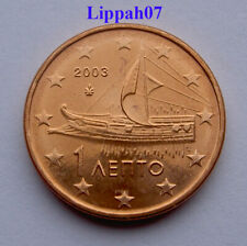Griekenland / Greece 1 cent 2003 UNC