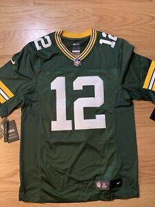 Nike NFL Green Bay Packers Aaron Rodgers #12 Stitched Jersey S 916116-334 LTMD