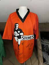More details for stones signed rugby league shirt