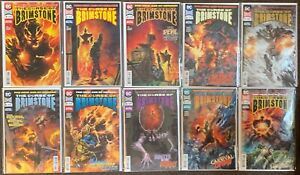The Curse of Brimstone #1,2,3,6,7,8,9,10,11 annual #1  New Age of Heroes DC Lot