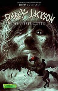 Percy Jackson, Band 5: Percy Jackson - Die letzte Göttin...   Buch   Zustand gut