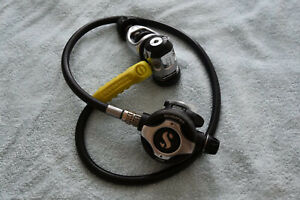 Scubapro Mk17 S600 regulator set, yoke (DIN optional)