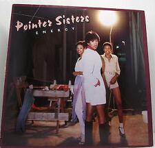 The Pointer Sisters Energy Lp Album 33rpm Vinyl Excellent+