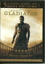 Gladiator 2000 Russell Crowe Epic / Widescreen 5.1 /Rated R / Extras/ 2003 Dvd