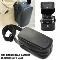 For Hasselblad Camera Real Leather Soft Case Protective Shoulder Bag Water-proof