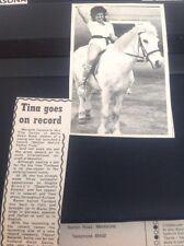 64-5 Ephemera 1971 Article Margate Tina Davies Mother Nature Father Time Singer