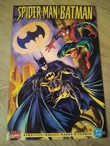Spider-man and Batman (1995 Marvel/DC Comics) TPB Embossed Cover - NM