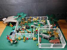 Playmobil ***Rarität*** Zoo, ähnlich 3145-A/1988, sehr viel Zubehör, ohne OVP!