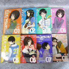 WELCOME TO THE NHK ni Youkoso Comic Comp Set 1-8 KENDI OIWA Book KD*