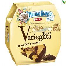 Mulino Bianco Torta pie Variegata mit Schokolade schoko tropfen Kuchen 400g