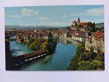 Thun (Thoune) Switzerland colour Postcard c1970s