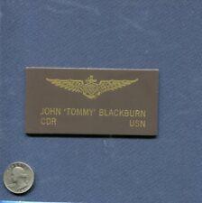TOMMY BLACKBURN VF-17 JOLLY ROGERS F4U Corsair US NAVY WW2 Squadron Name Patch