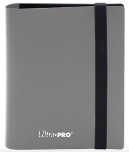 Ultra Pro Eclipse Binder Album 2 pocket GREY - 80 Trading Cards NBA NFL Pokemon