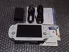 USED SONY PS Vita Console System PCH-1000 ZA02 WHITE Wi-fi Model F/S