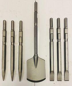 Points Chisels Clayspades suits Kango K950 Breaker Demoliton Hammer