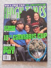 High Times Magazine issue 308 April 2001 13th Cannabis Cup