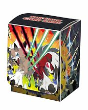 Japanese Pokemon Sun & Moon SM2 Lycanroc Deck Box BRAND NEW!!