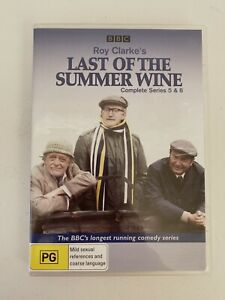 The Last Of The Summer Wine - Series 5 + 6 (R4) DVD Set * VGC
