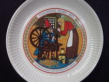 Wedgwood 1977 Children's Stories Rumpelstiltskin Brothers Grim Plate Mib