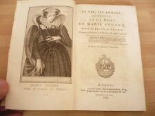 PLAQUETTE 1793 La vie, les amours, le procès et la mort de Marie Stuart