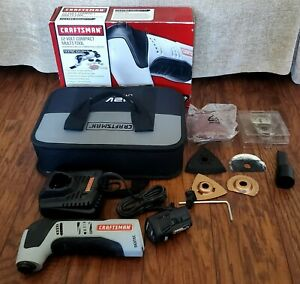 Craftsman Nextec 12V Lithium-Ion Multi-tool, Battery, Charger, Attachments, Bag