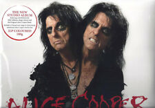FREE 12x12 REPRO w/NEW Alice Cooper PARANORMAL RED colored 180g GF Vinyl 2LP