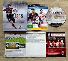 PS3 EA SPORTS FIFA 14 GAME IN STEELBOOK COLLECTORS CASE - PAL - STEEL BOOK TIN