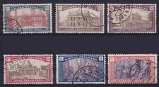 Italien Mi Nr. 206 - 211, gest. Roma etc., Heiliges Jahr 1924, used