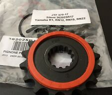 Silent Ritzel gummiert 17 Zähne Yamaha MT-01, MT01, 5YU, XJR 1300, #530, XJR1300
