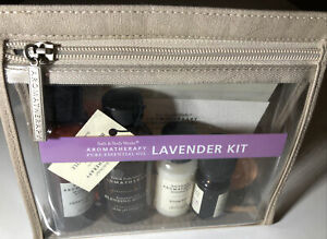 BATH & BODY WORKS Aromatherapy Lavender Pure Essential Oil Kit NEW open box RARE