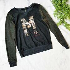 Maison Scotch & Soda Embellished M Logo Sweater 1 S 4 6
