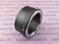 AI-NEX Adapter Ring for Nikon F Lens to Sony Alpha E Mount Camera