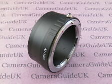 AI-NEX Adapter Ring for Nikon F Lens to Sony Alpha E Mount Camera