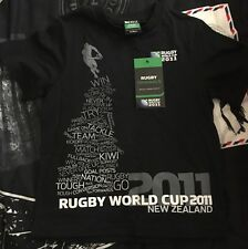 Rugby World Cup 2011 NEW ZEALAND Children's Official t- Shirt