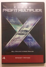 Forex Profit Multiplier CD-Rom 4 Spring+ Method Bill Greg Poulos Replacement