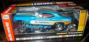 AUTO WORLD LEGENDS OF THE QUARTER MILE 1972 Plymouth Stardust GAR